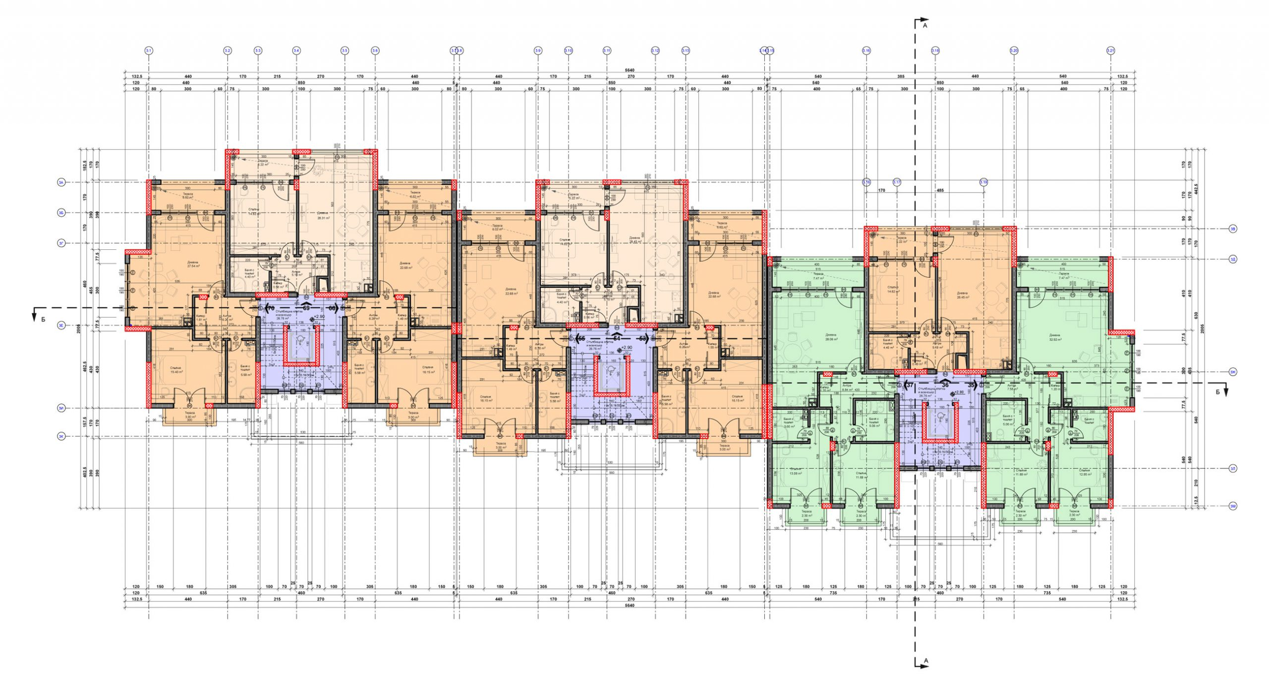 Carpe Vita, Building 3, Floor 2