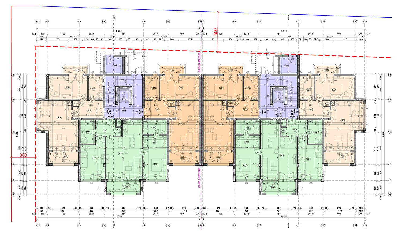 Carpe Vita, building 4, floor 1
