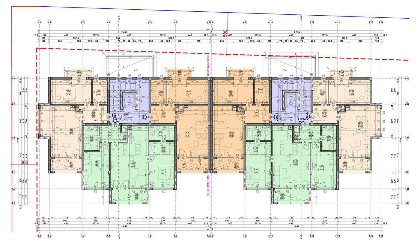 Carpe Vita, building 4, floor 3