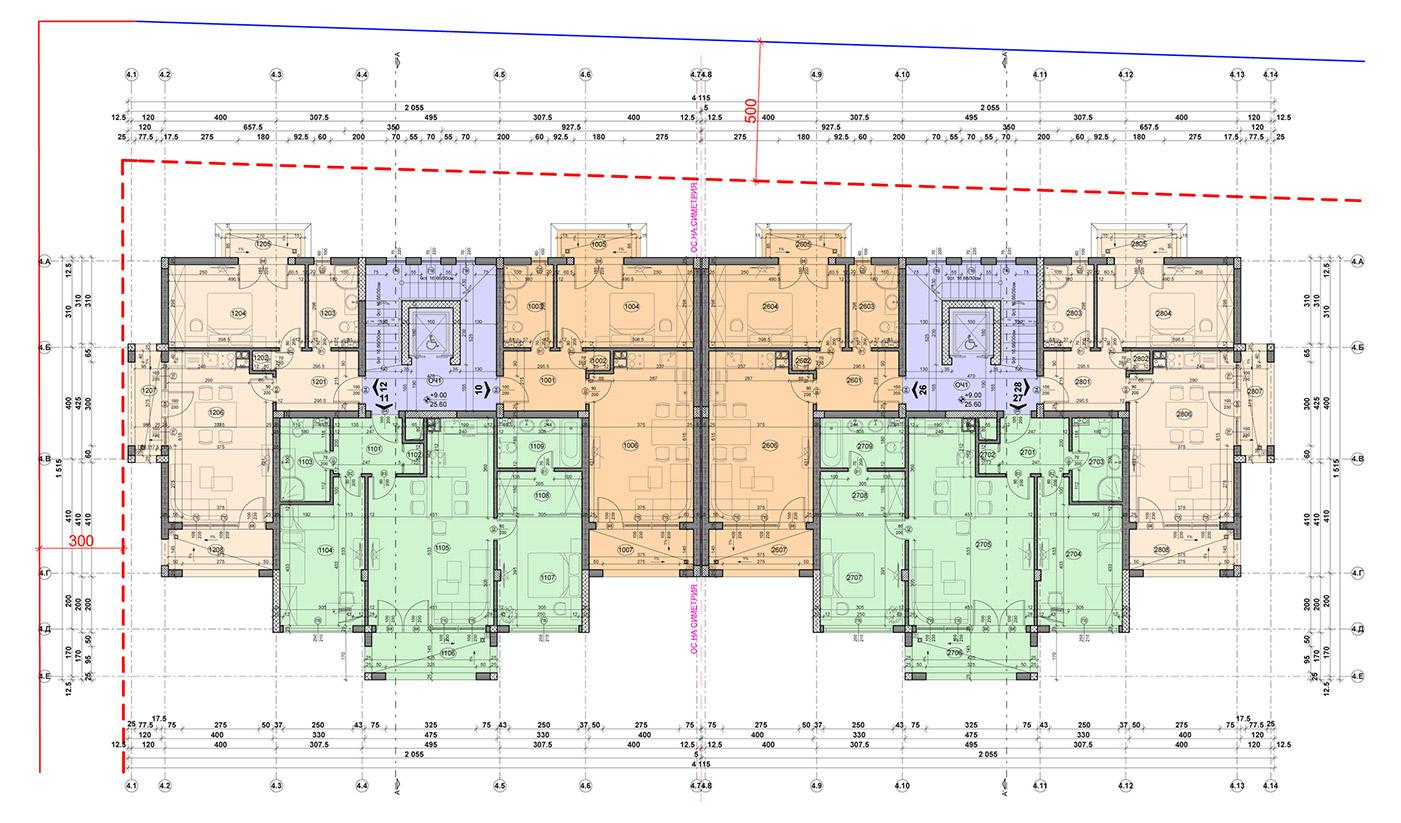 Carpe Vita, building 4, floor 4