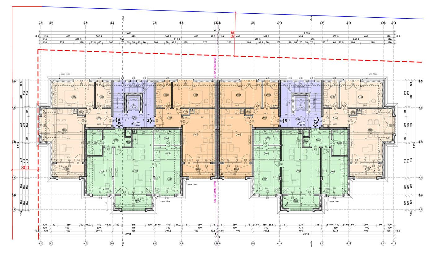 Carpe Vita, building 4, floor 5