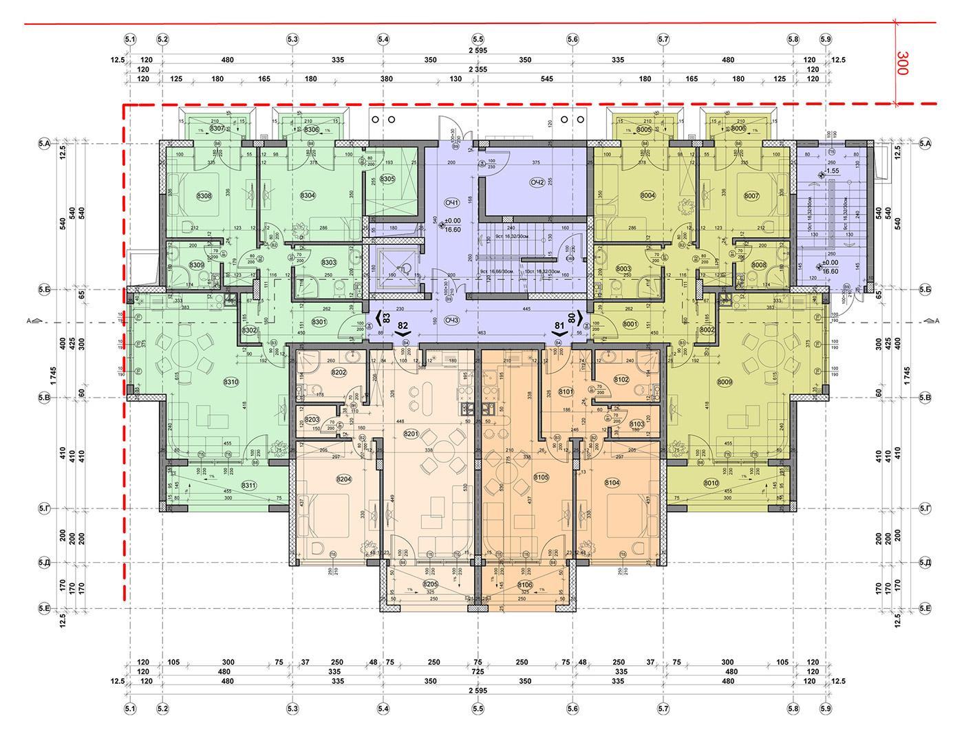 Carpe Vita, building 5, floor 1