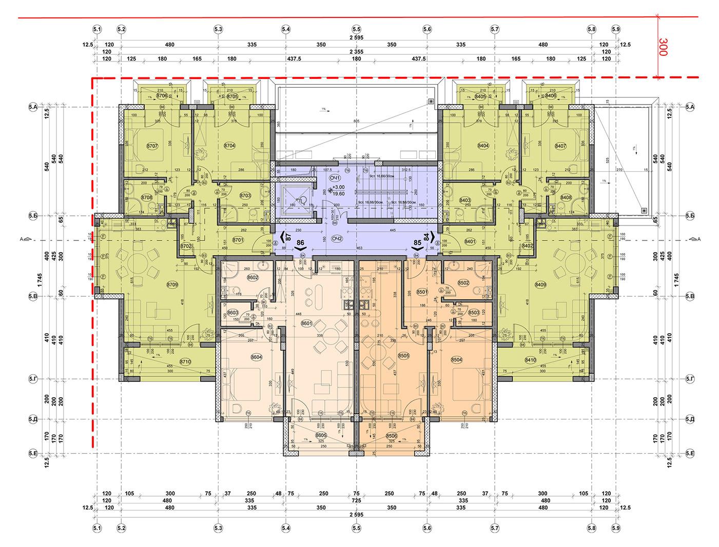 Carpe Vita, building 5, floor 2