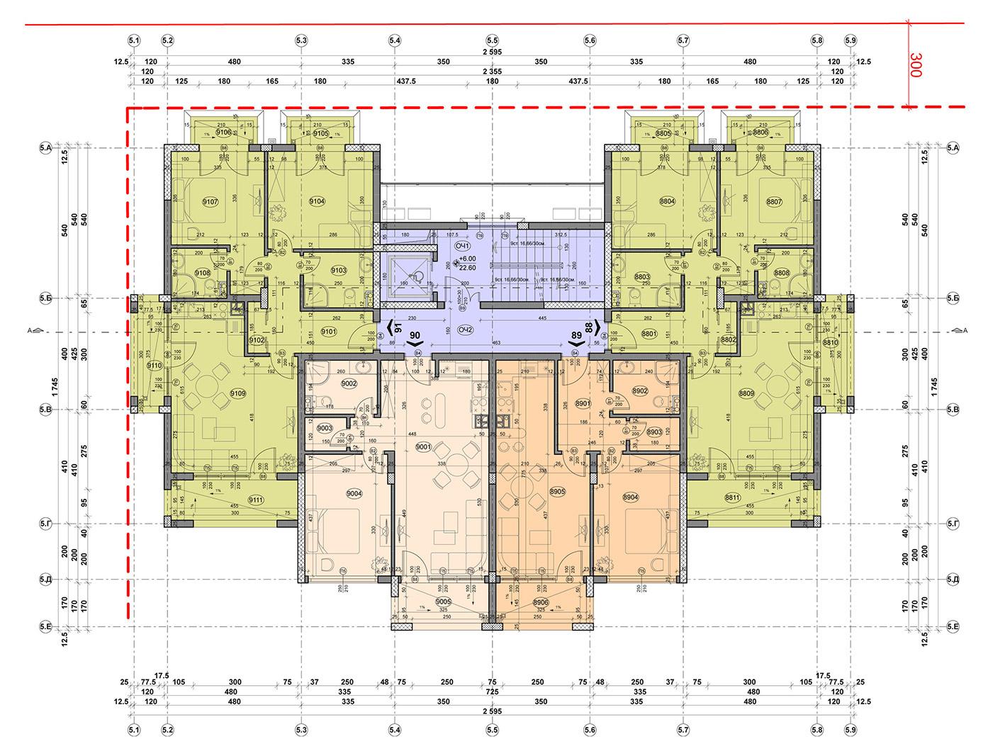 Carpe Vita, building 5, floor 3