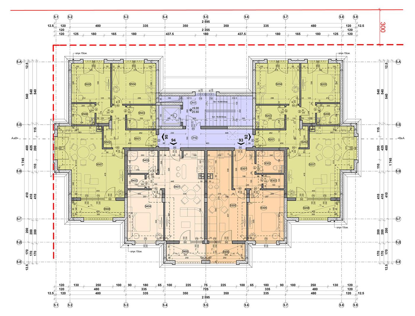 Carpe Vita, building 5, floor 4