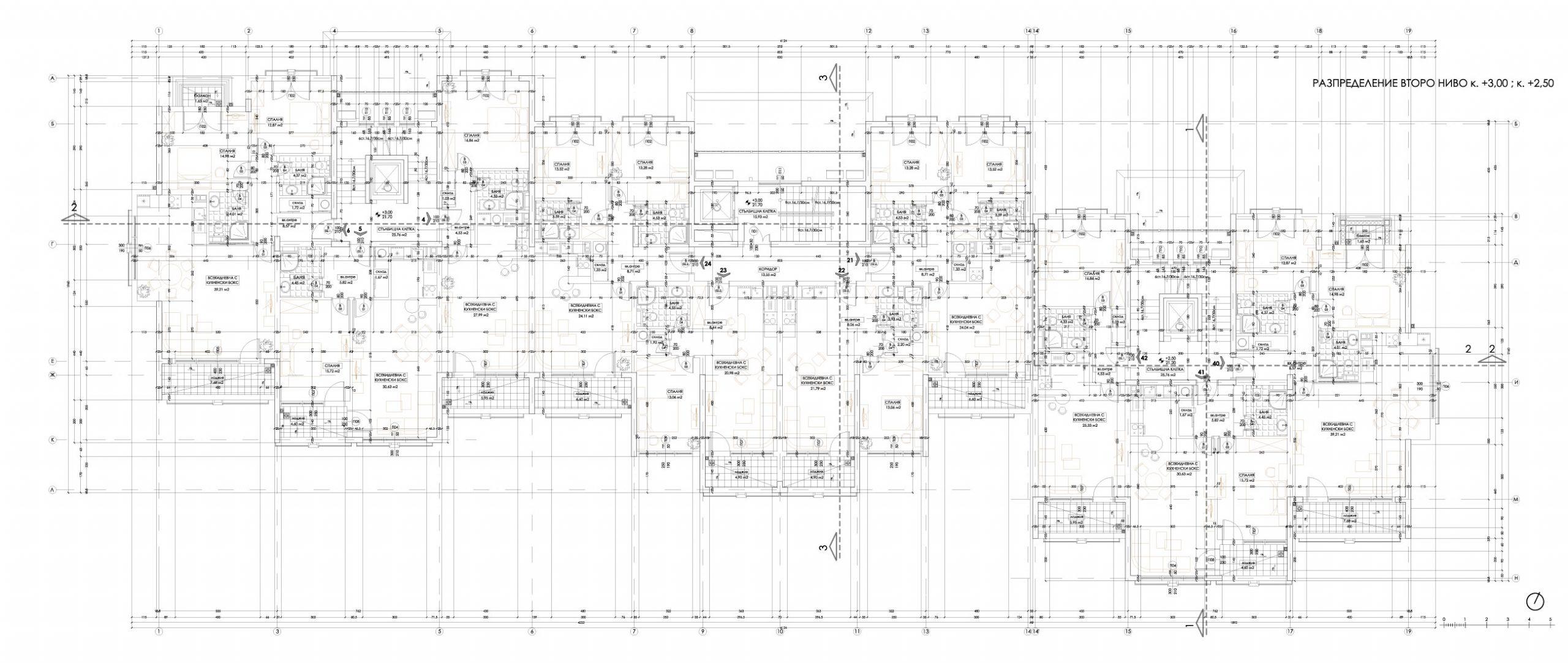 Carpe Vita, building 2, floor 2
